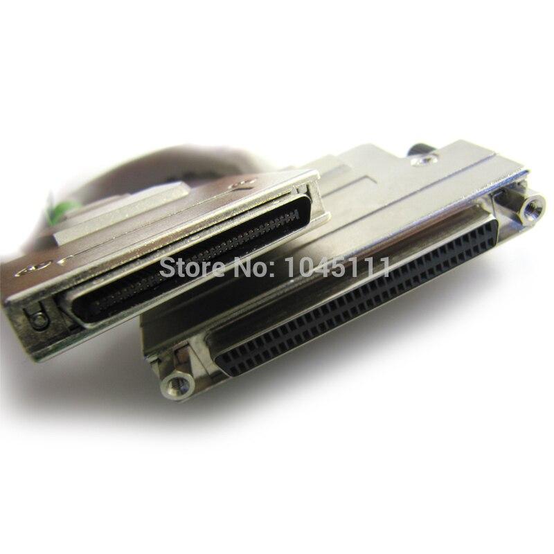 Wysokiej jakości VHDCI68 VHDCI 68 mężczyzna, aby SCSI HPDB68 HPDB 68 żeński M/F kabel darmowa wysyłka w Kable i złącza do komputera od Komputer i biuro na AliExpress - 11.11_Double 11Singles' Day 1