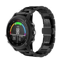 Adroit 2016ใหม่ไทเทเนียมเหล็กสร้อยข้อมือสายรัดข้อมือสมาร์ทนาฬิกาวงโลหะสายรัดข้อมือสำหรับG ArminสำหรับFenix 3/ชม11S61010