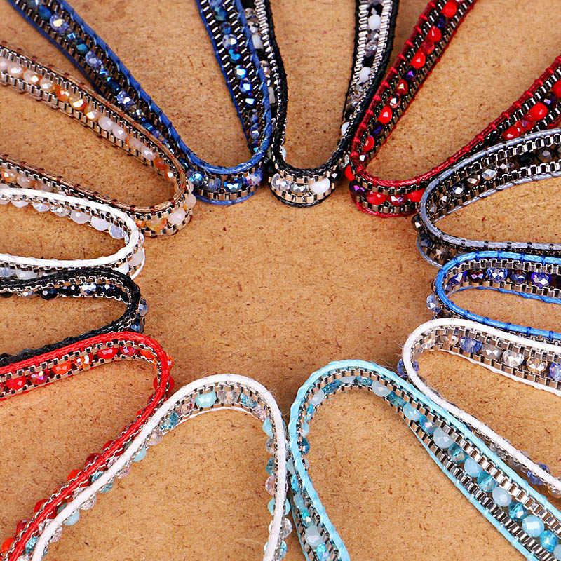 みゆきデリカシードビーズ女性ブレスレット友情の宝石手作り Diy クリスタルビジューファムシンプルなブレスレットガール