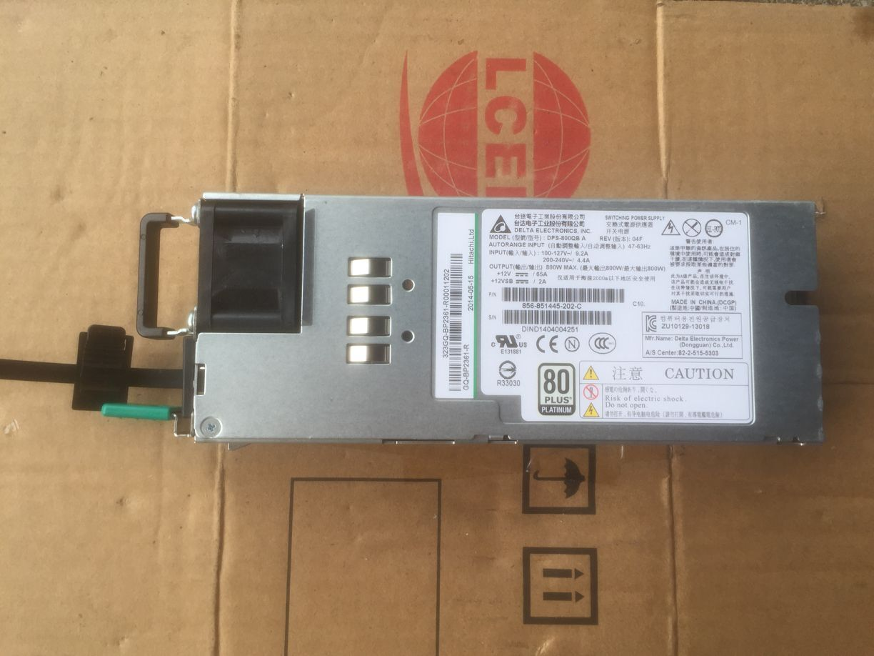 100% Working Desktop For DPS 800QB A 856 851445 800W Server Power Supply