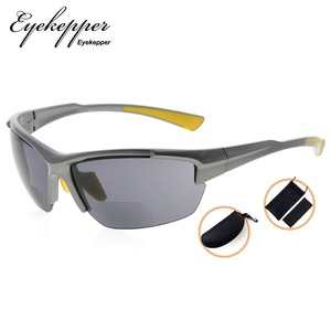 Image 5 - SG901 Eyekepper TR90 Sports Half Rimless Bifocal Sunglasses Baseball Running Fishing Driving Golf Softball Hiking Readers