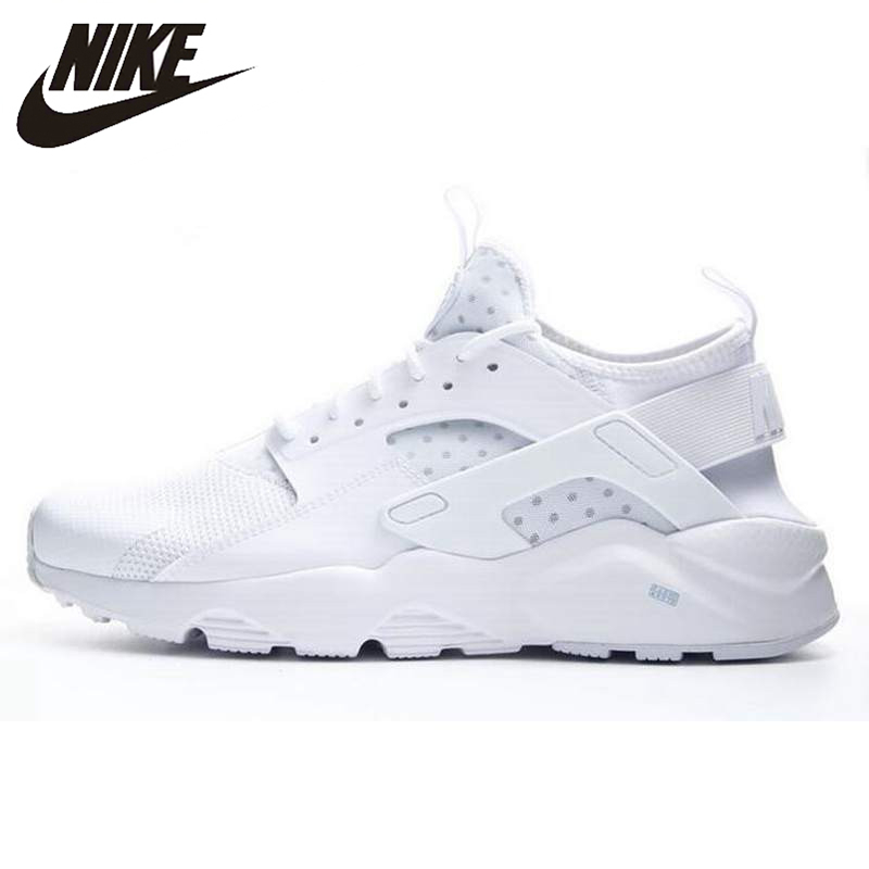 Nike New Arrival AIR HUARACHE RUN ULTRA Men's Running Shoes Original Breathable Outdoor Sport Sneakers 819685 nike roshe run men air mesh breathable running shoes original new men outdppr sport sneakers trainers shoes