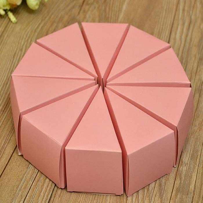 Kotak tas permen chocolate kertas paket hadiah untuk Ulang Tahun Pernikahan dekorasi mendukung partai persediaan DIY baby shower kue ukuran besar Wh
