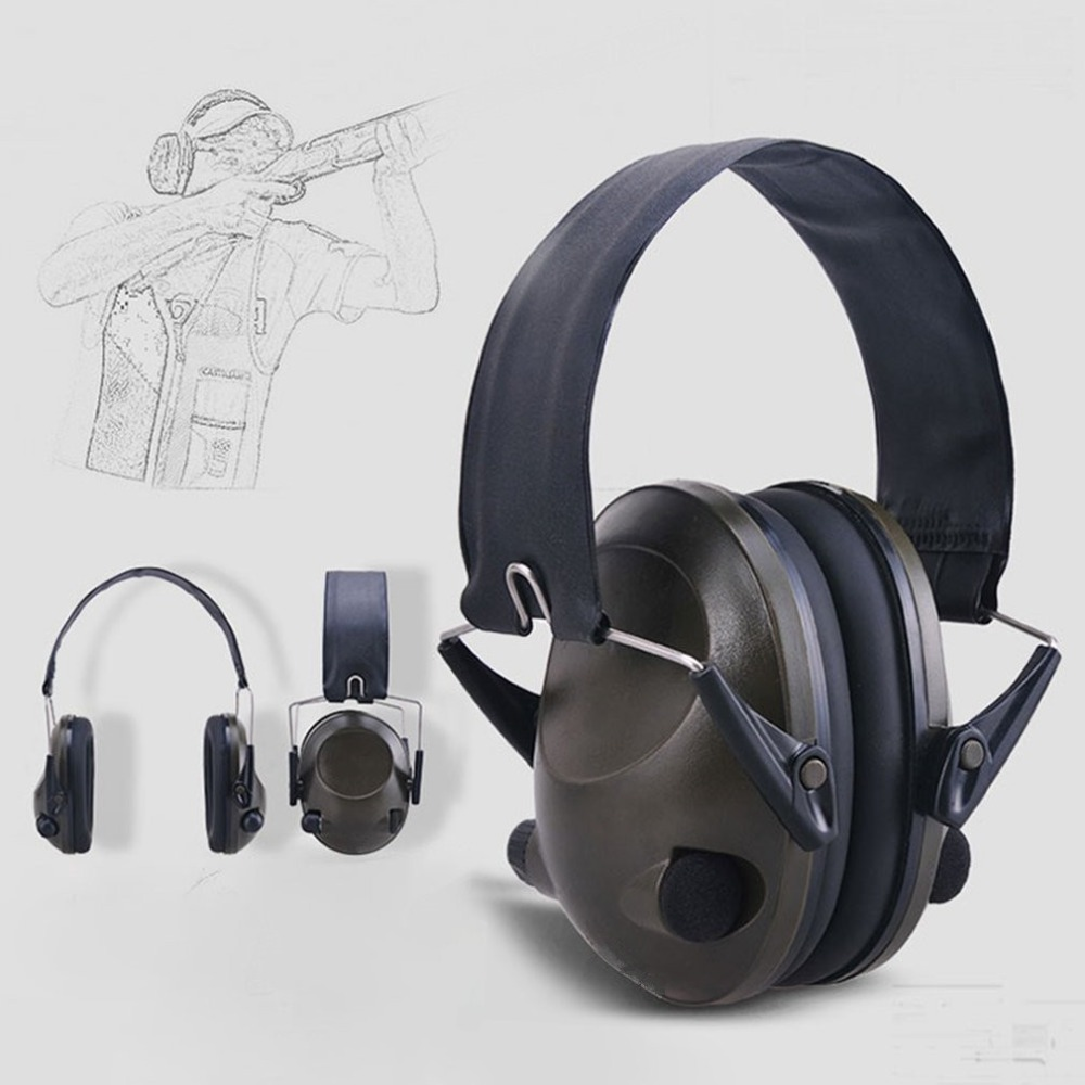 Anti-noise Military Tactical Earmuff Sport Hunting Shooting Ear Defenders Hearing Protecting Earmuffs With 3.5mm Audio Jack forest defenders