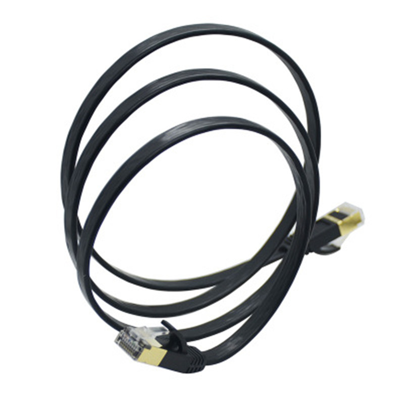 Seven types of network cable computer router broadband twisted pair 7 network cable cat7 pure copper