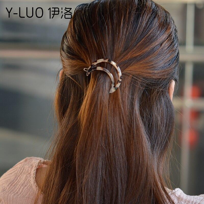 Aliexpresscom  Buy Women Headwear Moon Hair Clip Cute -9176