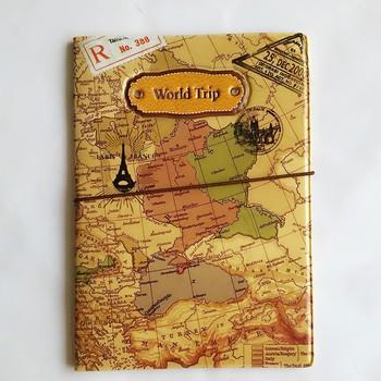 2020 nowy mapa podróży świata okładki na paszport dla mężczyzn skóra pvc saszetka na dowód osobisty etui na paszport portfele na paszport 14*9 6cm tanie i dobre opinie Mcneely world Trip map passport covers Paszport okładki Akcesoria podróżnicze 14cm 0 3cm pvc leather Animal prints