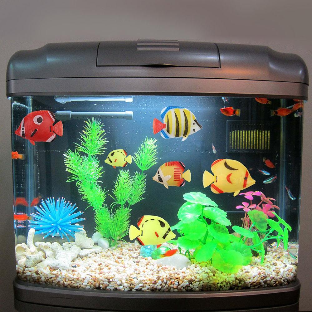 Fake fish tank aquarium walmart 1000 aquarium ideas for Walmart fish tank decorations