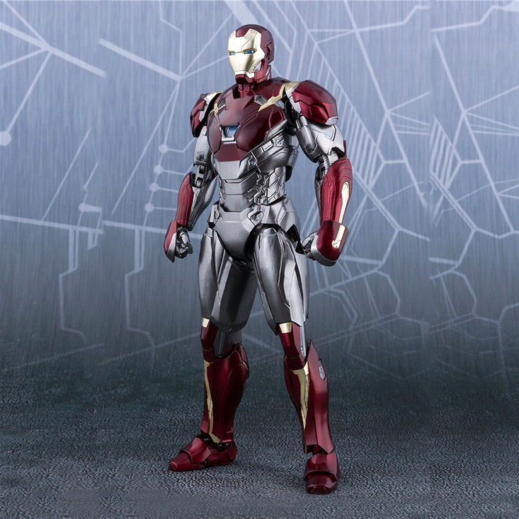 HKXZM Anime Figures SHF SHFiguarts Iron Man MK 47 Mark XLVII PVC Action Figure Collectible Model Toys GiftHKXZM Anime Figures SHF SHFiguarts Iron Man MK 47 Mark XLVII PVC Action Figure Collectible Model Toys Gift