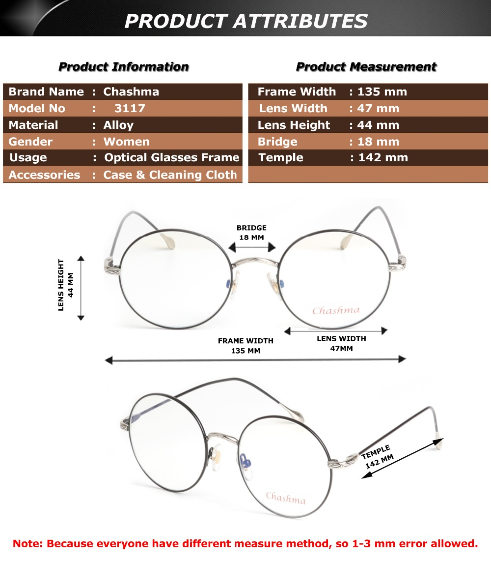 Lovely Kids Glasses Without Lens Party Dress Cosplay Props Baby Frame Glass TPI