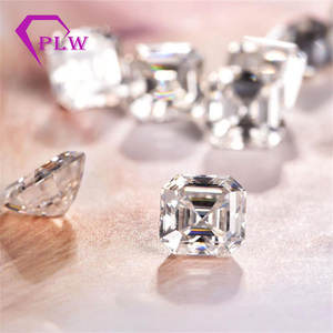 Image 5 - Provence jewelry Loose moissanite 2 carat 7*7 mm D color asscher cut test positive gem stone for bracelet  ring chain earring