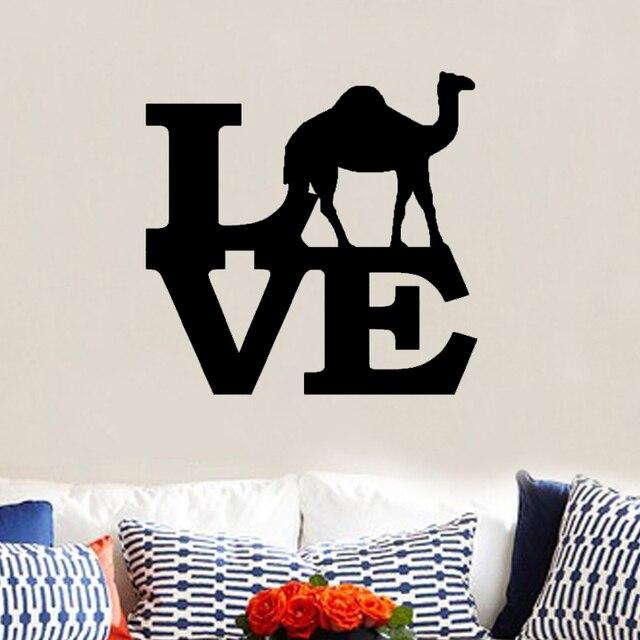 Hot Camel Love Zoo Keeper Africa Desert Dessert Dromedary Decal ...