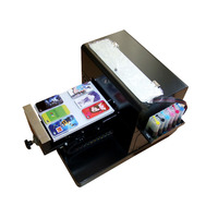 Hot Sales A4 Flatbed Printer Machine For Print CD DVD Cards Phone Case T Shirt Pen