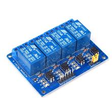 Hot Sale 4 Channel Relay Module 12V Relay control 4 way relay module for arduino ARM PIC AVR