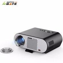 HD 720 P светодиодный проектор GP90 1280×800 видеопроекторы Поддержка 1080 P HDMI USB VGA 3200 люмен для дома Кино Театр Видео Movie