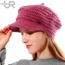 New Women Winter Hat Female Warm Skullies Beanies Pineapple Texture Fur Knitted Hats For Woman Ladies Winter Rabbit Fur Hat Cap цена 2017