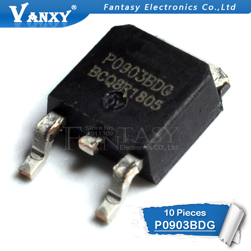 10pcs P0903BDG TO-252 P0903 TO252 P0903B SMD
