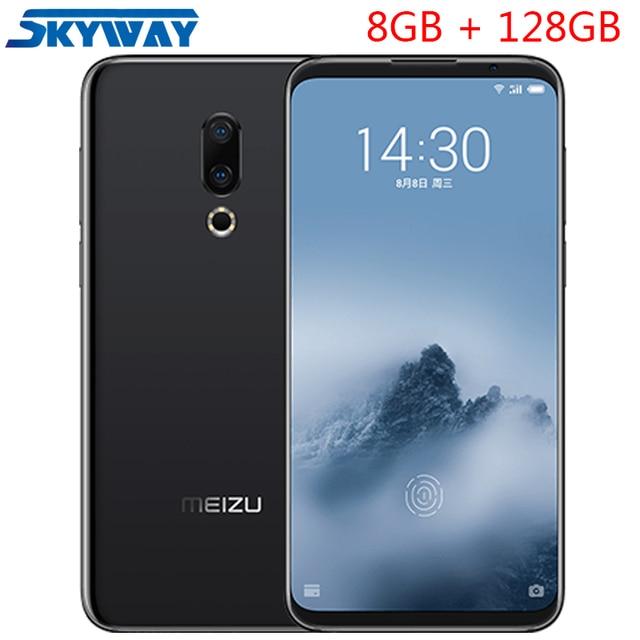 "Original Meizu 16th Plus 16 Plus 4G LTE Snapdragon 845 Octa Core Adreno 630 8GB 128GB 6.5"" FHD 2160x1080P Full Screen Cell Phone"