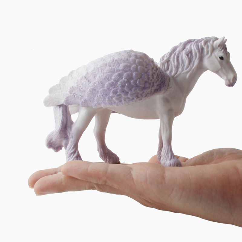 anime figure Pegasus horse Unicorn Model Toy toys for children one piece girls pet shop llama hot sale toy lot