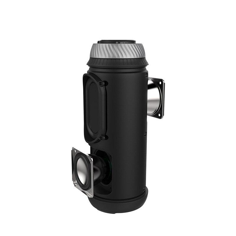 W-king Portable Bluetooth Speaker 20W Subwoofer Speaker mini Wireless Speaker for phones Support TF Card AUX Computer Speakers cs l01 portable mini car wireless bluetooth speaker w tf card slot black white
