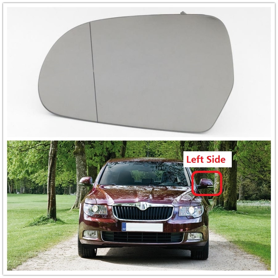 VW Transporter T5 wing mirror glass 2015-2019