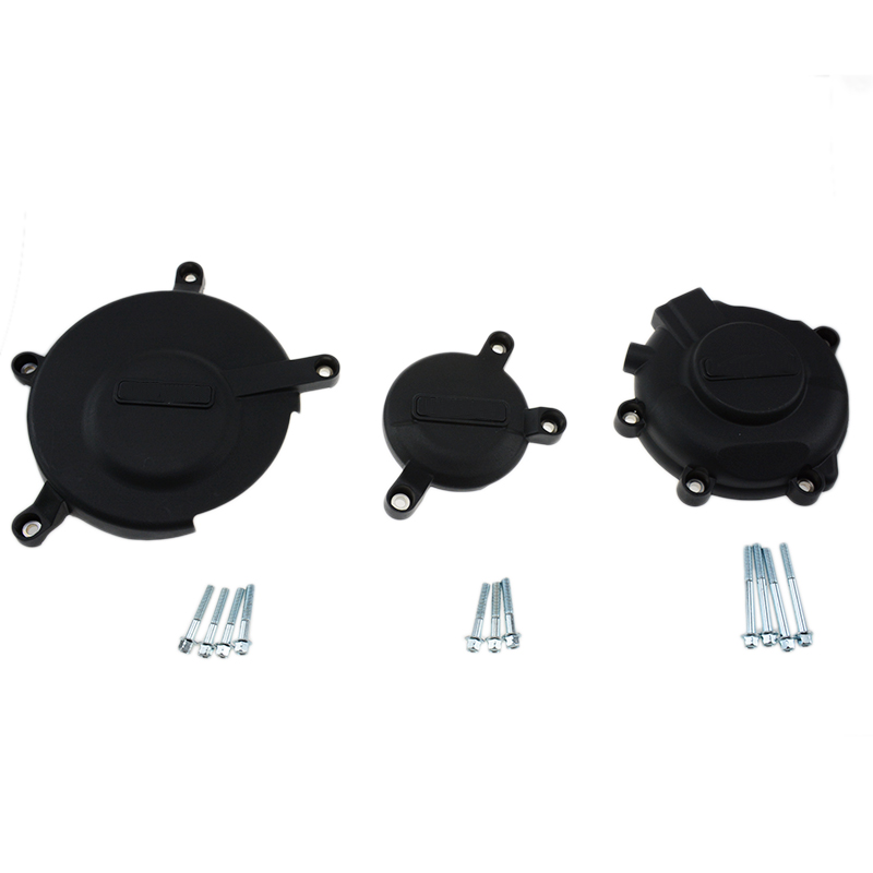 Racing Motorcycle Plastic Engine Stator Case Cover Guard Protection Kits For GB case For Suzuki GSXR600 GSXR750 2006-2015 K6-L5 new motorcycle ram air intake tube duct for suzuki gsxr600 gsxr750 2006 2007 k6 abs plastic black