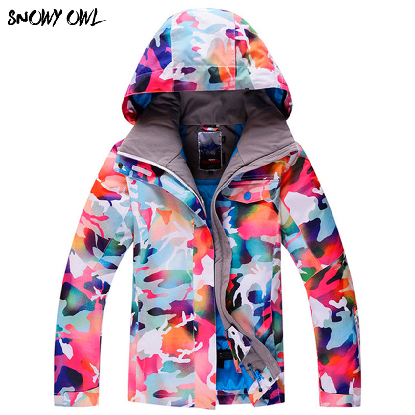 Free Shipping New SNOW ski jackets New Women's Windproof Breathable Waterproof Female skiing Snow Jackets Warm Clothes yw seebz original thermal printhead for zebra kr403 305dpi barcode label printer spare parts thermal print head