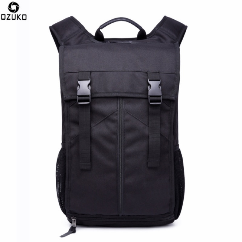OZUKO 16 Inch New Men Backpack Multifunction Travel Mochilas Large Capacity Schoolbag/Business/Laptop Computer Rucksack 20-35L