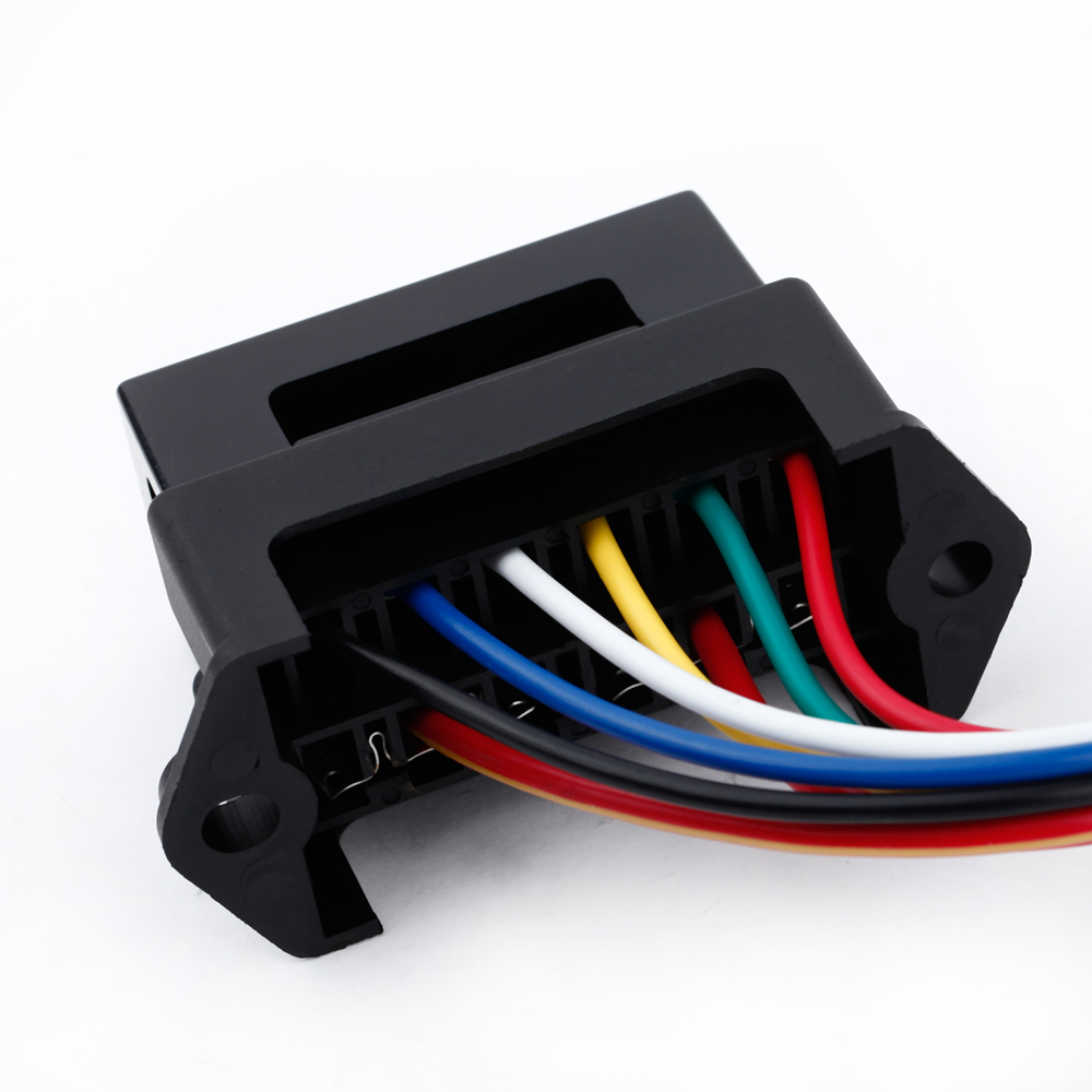 6 way car fuse box circuit car trailer auto blade fuse box block holder dc 12v 24v 32v atc ato 2 input 6 ouput wire in fuses from automobiles motorcycles  [ 1000 x 1000 Pixel ]