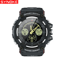 SYNOKE Smart Watch Men Sport Running Hour 5Bar Waterproof Smartwatch Women Heart Rate Monitor Fitness Clock For Android IOS