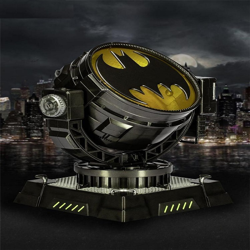 HeroClub1/6 Movie Prop Batman Bat Spotlight with LED Light for 12Collectible Action Figure Scenes ToysHeroClub1/6 Movie Prop Batman Bat Spotlight with LED Light for 12Collectible Action Figure Scenes Toys