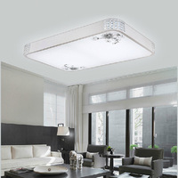 LED Acrylic Rectangular Circular Living Room Lights Bedroom Ceiling With A Balcony Dining Room Den