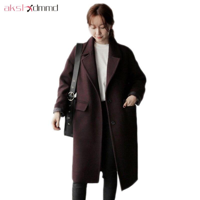 Akslxdmmd Mode Wolle Mantel Weiblichen Mantel 2019 Neue Winter Casual Frauen Kaschmir Jacken Und Mäntel Casacos Lh1292 Haus & Garten Bettwäsche