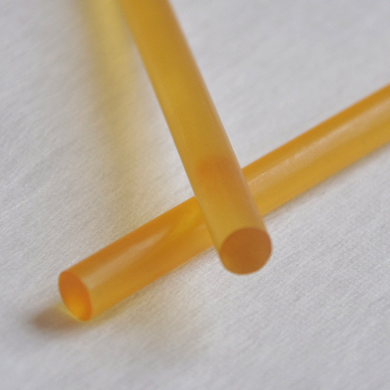 12pcs/lot Professional Keratin Glue Sticks For Human Hair Extensions Yellow Makeup Tools