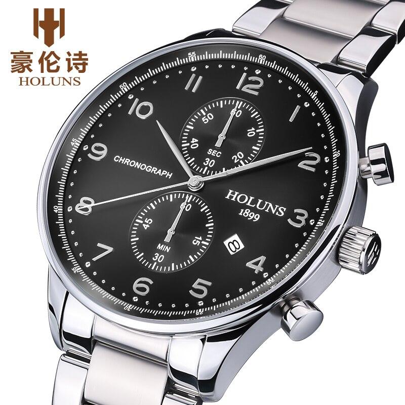Fashion Creative Watches Men Stainless Steel Band Luxury Brand 50M Waterproof men s Wristwatches Men Watch