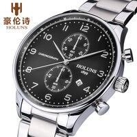 Fashion Creative Watches Men Stainless Steel Band Luxury Brand 50M Waterproof men's Wristwatches Men Watch Relogio Masculino