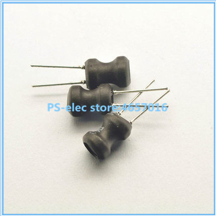 10pcs 0810 8*10mm I-shape Power Inductor Inductance Copper Coil 1 2.2 3.3 4.7 10 mH 22 33 47 68 100 150 220 330 470 uH image