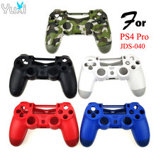 YuXi Replacement Front Back Housing Cover Protective Shell Case For Sony Playstation 4 PS4 Pro Slim JDS 040 Controller