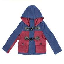 Зимние мальчики верхняя одежда пальто свободного покроя пальто мальчики хлопок регуляр-fit пальто верхняя одежда длинная 4C0845