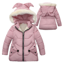 Распродажа, осенне-зимние теплые куртки для девочек, пальто для девочек, куртки для маленьких девочек, детская верхняя одежда с капюшоном, пальто, детская одежда