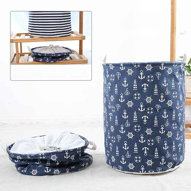 Laundry Basket Baby Clothes Basket Storage Basket For Toys Tools