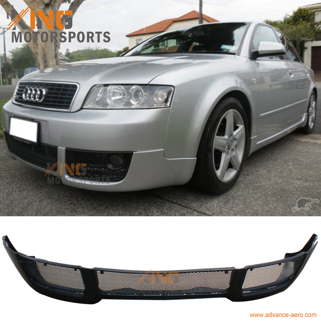 for 2002 2003 2004 audi a4 b6 v style pu front bumper lip spoiler rh aliexpress com 2002 Audi Quattro Owner's Manual 2002 Audi Car