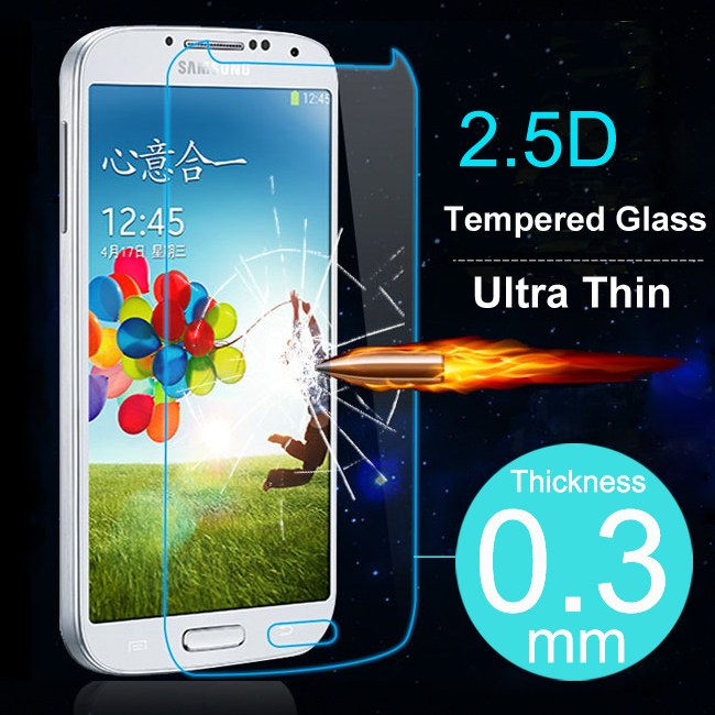 Slim Ultra Thin Tempered Glass Screen Protector For Samsung Galaxy S3 S4 S5 S6 Note 2 3 4 5 For A3 A5 A7 A8 Case Protective Film