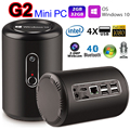InteI Mini PC Windows 10.0 2.0MP Cámara Mic WiFi G2 Bay Trail CR Z3735F Quad Core 2G 32G Reproductor Multimedia Bluetooth 4.0 TV Por Internet CAJA