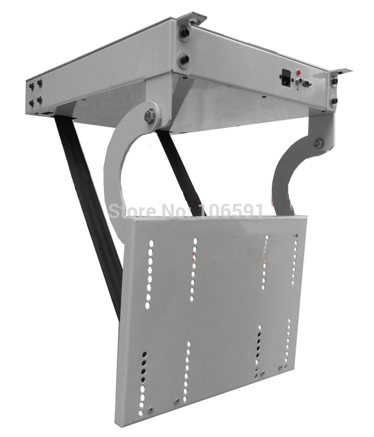 Large Project Bracket Ceiling Tv Lift For 32 80 Inch Tv Tv Mount