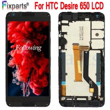 For HTC Desire 650 LCD Display Touch Screen Digitizer Assembly Mobile Phone Replacement Repair Parts 5.0