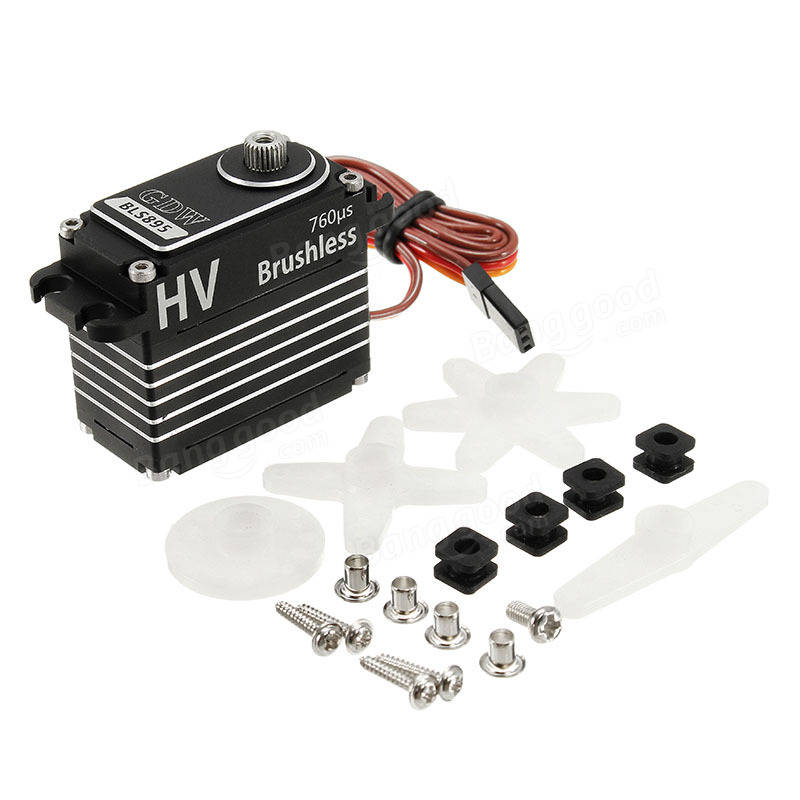 GDW -3 pieces DS590MG +1 pieces BLS895 HV Medium Digital Metal Servo Helicopter Parts Suitable For 505 500-700 Helicopters