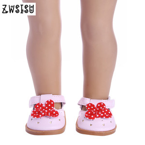 3pcs color mini doll shoes, cu