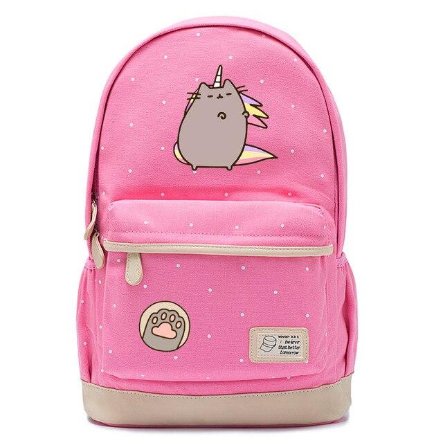6475650e1ed9 Мультфильм толстый кот рюкзак для подростков девочек толстый кот детский  сад Сумки Детские рюкзаки детские школьные