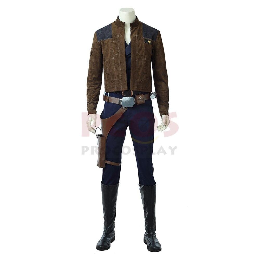 Solo: История Звездных Войн Han Solo косплей костюм и обувь